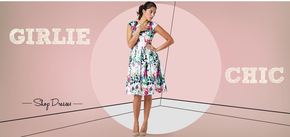 Banner Shop Dresses Girlie Chick by Roman Strazanec