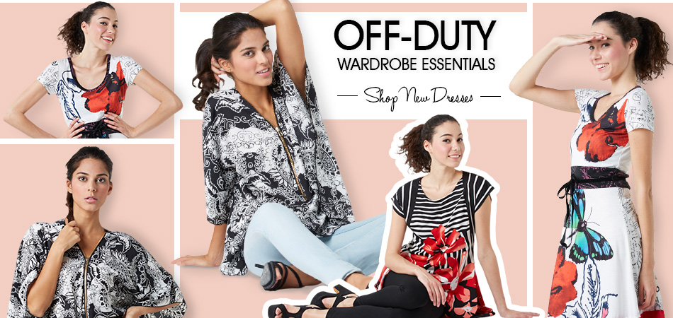 Banner Off Duty Shop new dresses by Roman Strazanec