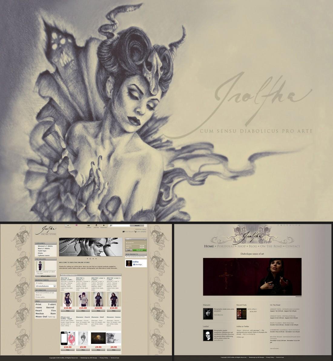 Iroltha webdesign 2015